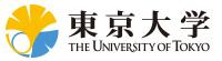 東京大学 THE UNIVERSITY OF TOKYO