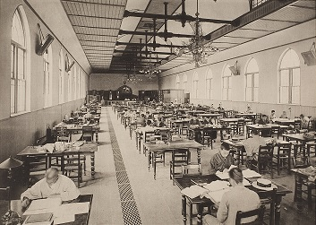 The University Library's Reading Room, 1900