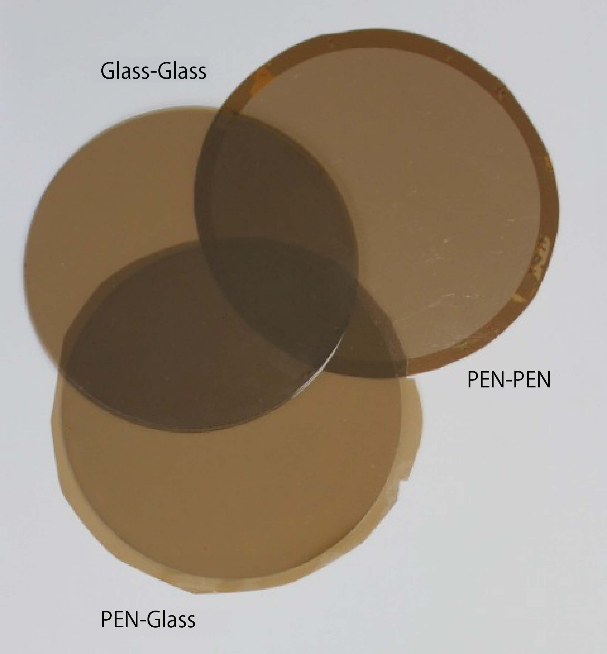 Room Temperature Bonding of Film-to-Film and Film-to-Glass