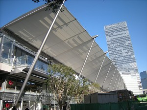 Figure 4: Tokyo Station GranRoof. The titanium dioxide coating ensures long-lasting whiteness.