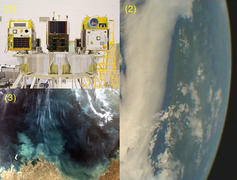 超小型衛星「ほどよし3、4号」の打ち上げ成功と地球画像取得開始                                 新しい宇宙開発と利用が始まる