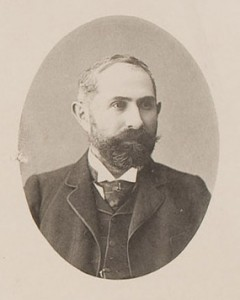 Ludwig Riess (1861-1928) studied under Hans Delbruck at Frederick William University (currently Humboldt University of Berlin) and mastered the study of modern history established by Leopold von Ranke. Riess came to Japan in 1887, lecturing on world history and the methodology of historical research until 1902.
