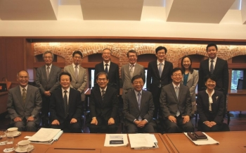 Visit by President Yeon-Cheon Oh of the Seoul National University
