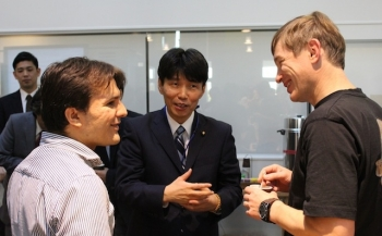Minister of State for Science and Technology Policy Yamamoto visits Kavli IPMU      View     Edit     Translate     Access control     Node export     Convert