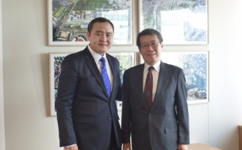 Visit of Mr.Luvsannyam Gantumur, Minister for Education and Science of Mongolia