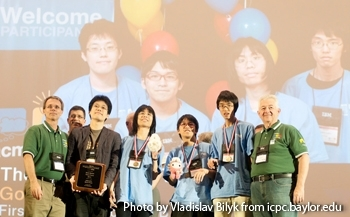 Todai team wins third place in 2013 ACM-ICPC