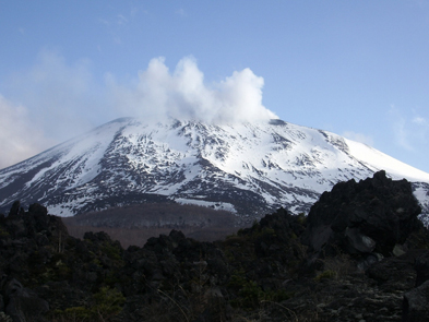 Mt. Asama, site of one of UTokyo's volcanic observatories