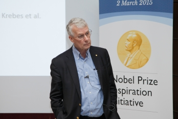 Nobel Laureate Dr. Richard Roberts Delivers Special Lecture