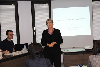 How Science Writers Write about Science: Second International Public Relations Workshop held