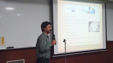 Session given by Dr. Surhud More, Project Assistant Professor, Kavli IPMU