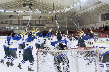 UTokyo's Ice Hockey Team Wins at the Seven Universities Athletic Meet for the First Time in 46 Years