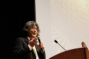 "Professor Murayama seizes the attention of the audience by talking even about the film Angels & Demons, which features antimatter, and about Japanese singer Megumi Asaoka's hit song ""Watashi no Kare wa Hidari-kiki"" (""My Guy is Left-handed"") *Neutrinos are considered to be"