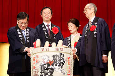 Celebratory Gala Given for Professor Kajita to Commemorate His Nobel Prize Win