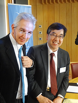 President Gonokami signed a MoU related to Summer Programs with the new IARU member university