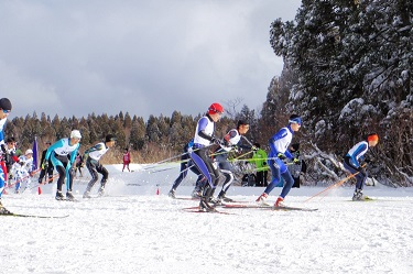UTokyo's Skiing Team Takes 2nd Place at the Seven Universities Athletic Meet
