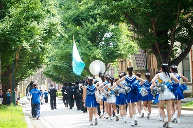 Seven Universities Cheer Parade Held