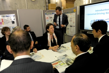 Ms. Violeta Bulc, European Commissioner for Mobility and Transport, visits Advanced Mobility Research Center (ITS Center)