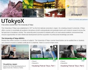 Massive Open Online Courses (MOOCs) | The University of Tokyo