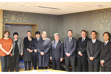Delegation from Stockholm University Visits UTokyo