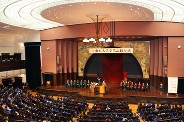 AY 2016 Spring Graduate Commencement Held
