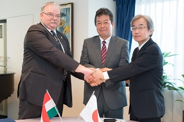 UTokyo Signs Japan-Hungary Trilateral Collaboration Agreement to Advance Safety, Disaster Prevention Through Muography