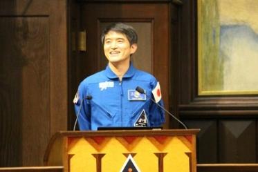 Briefing Session Held on Astronaut and UTokyo Graduate Takuya Onishi's Expedition Mission to Space