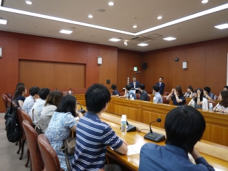 Visit to the Korean Ministry of Foreign Affairs (Seoul National University - University of Tokyo Joint Summer Program)
