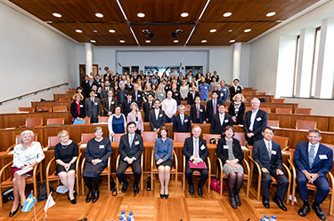 "Strategic Partnership Joint Workshop ""Active Ageing: living longer and healthier in an ageing world"" held between the University of Tokyo & the Stockholm University Group"