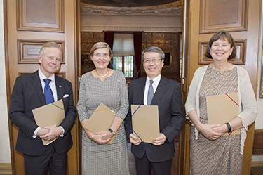 Strategic Partnership Agreement Signed with Universities in Stockholm