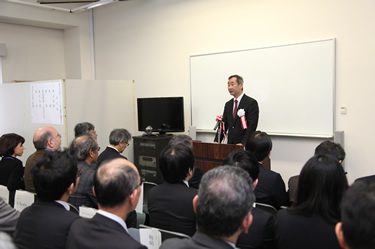 Opening remarks by Professor Takaaki Kajita, Director of NNSO