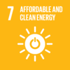 SDG7 Ensure access to affordable, reliable, sustainable and modern energy for all