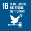 SDG16 Promote peaceful and inclusive societies for sustainable development, provide access to justice for all and build effective, accountable and inclusive institutions at all levels