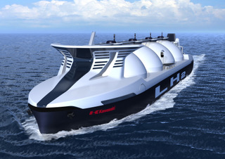 Concept design of a commercial liquefied hydrogen carrier ship >