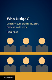 A cover with pictograms of 6 juries