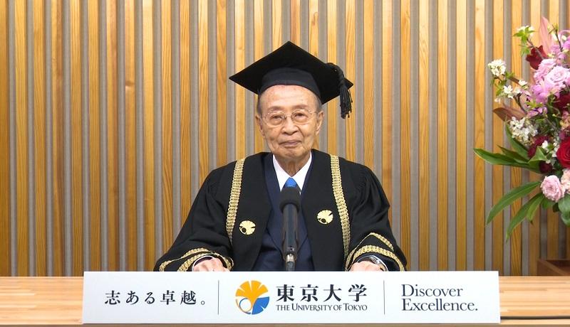 令和2年度東京大学入学式来賓祝辞 | 東京大学
