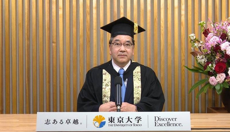 令和2年度東京大学入学式総長式辞 | 東京大学