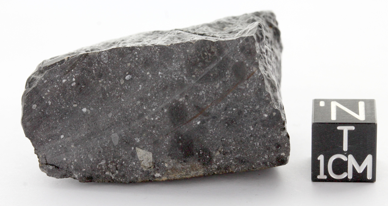 A dark rock