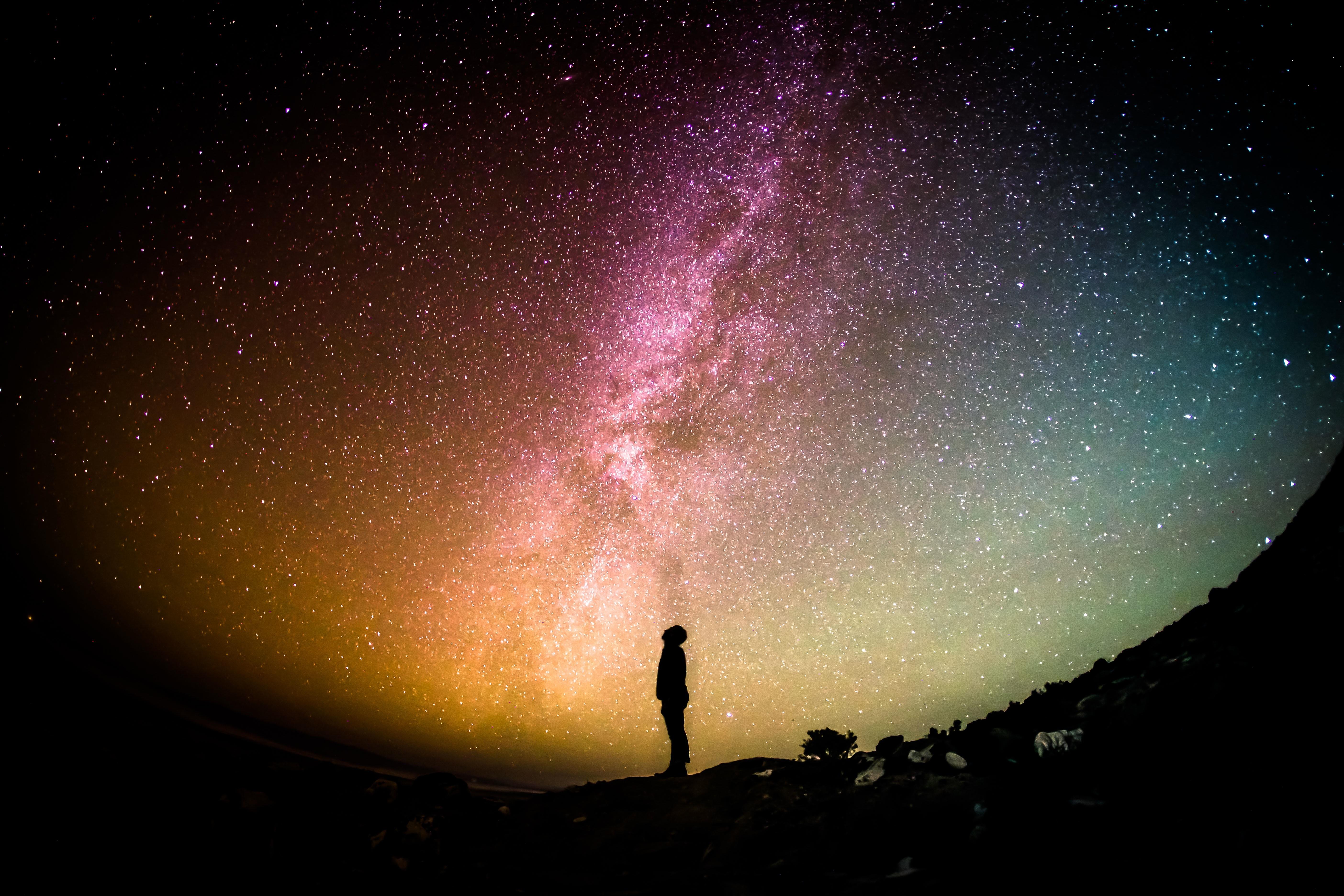 A starfield